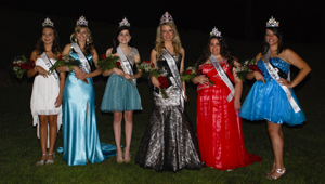 Thorsby High School's 2013 Homecoming Court included Addison Naimon, seventh grade; Rachel Snow, eighth grade; Anna Hilyer, ninth grade; Laken Patterson (queen), 12th grade; Morgan Norwood, 10th grade; and Jade Connell, 11th grade.