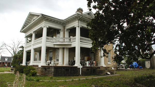 Built in 1901, the mansion Jerry and Sharon Pledger now own is thought to be haunted.