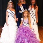 The 2013 Miss Chilton County queens are: Young Miss Grayson Gann; Miss Katie Hilyer; Junior Miss Laken Hayes; and Little Miss Addyson Williams.
