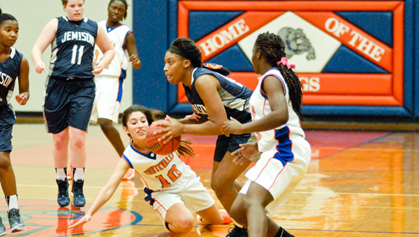 Bulldogs bitten: Jemison's girls basketball team pulled out a 63-56 win at Montevallo on Tuesday. The Panthers boys team wasn't as successful, falling to the host Bulldogs by a 50-32 score.