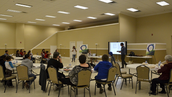 Residents throughout Chilton County gathered Tuesday at the Jemison Municipal  Complex for a public forum on bullying.