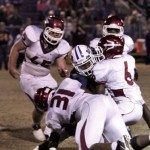 Devonte Morrow (No. 31), Damian Mitchell (6) and the rest of the Maplesville Red Devils will try to slow down third-round playoff opponent Linden this week like they did Geneva County last week. The game begins at 7 p.m. at Maplesville's George Walker Jr. Stadium.