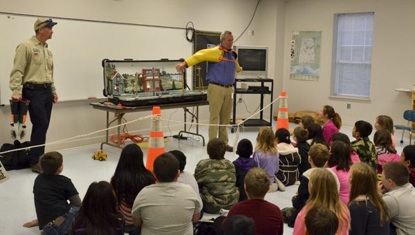 Students at Jemison Elementary School had the opportunity to explore and learn different careers during career days on Monday and Tuesday.