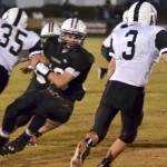 The Thorsby Rebels were unable to pull a victory over the Mustangs Friday.
