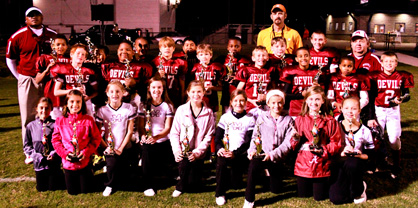 Minors champions: Maplesville Red Devils