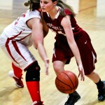 Amber Uptain scored a game-high 20 points in a win over Verbena.
