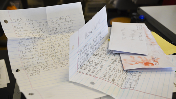 Letters to Santa mailed to post offices in Chilton County are now sent to the main post office in Birmingham before they are sent to the North Pole.