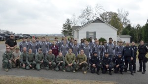 Members of the Clanton Police Department's tactical unit along with the Chilton County Sheriff's Department's tactical unit combined their training with the students.
