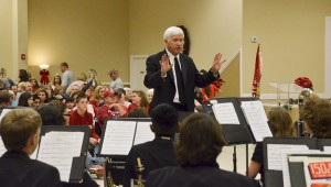 Members of the JHS Symphonic Band performed a Christmas Concerto as JHS Band Director George Martin directed his final Christmas concert with plans to retire next year.