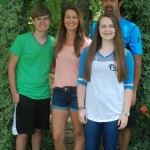The Penton family includes Austin, Rachell, Scott and Courtney. The family spends their weeks during the summer attending various farmer's markets across Alabama representing their farm, Penton Farms in Verbena.