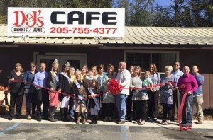 The Chilton County Chamber of Commerce held a ribbon cutting for the restaurant Oct. 20. (Contributed)