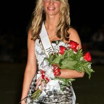 Izzy Brickley was crowned homecoming queen.