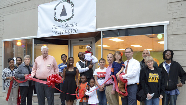 UnDiscovered Dance Studio, located at 601 Second Ave. N. in Clanton, opened Oct. 2 with a ribbon cutting sponsored by the Chilton County Chamber of Commerce. (Photo by Emily Reed)