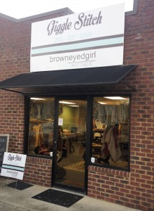 Giggle Stitch and Brown Eyed Girl Boutique opened on Nov. 10 in Jemison.