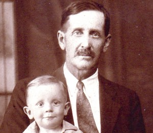 Tandy McSwain is pictured with his grandson Archie McSwain Taylor.