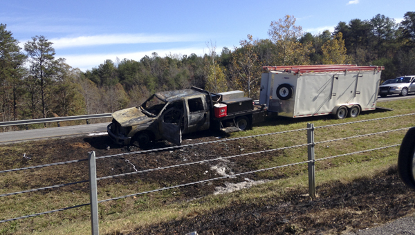 A wreck on Interstate 65 northbound at the 223 Mile Marker near Jemison has closed one lane of traffic.