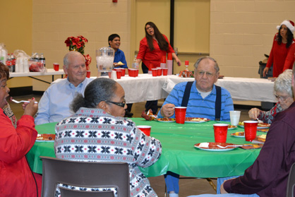 Thanking patients: About 250 people attended the event at Clanton Conference and Performing Arts Center.