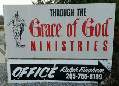 All are welcome: Through the Grace of God Ministries offers meals, worship services and much more at its located at 75 Eighth St. S. in Clanton.