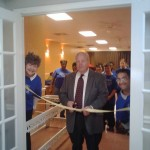 Ceremony guest: Probate Judge Bobby Martin was a guest at the ribbon cutting ceremony.