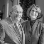 Bold for God: Graham met his wife, Jean, while serving as pastor at Samaria Baptist Church.