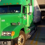 Big rig: Police are looking for leads in the case of a green 2004 Freightliner being stolen recently from a business off Highway 145 in Clanton. (Contributed)