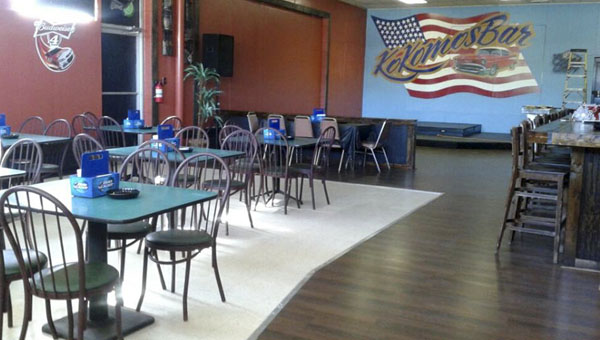 Kokomos Bar in Clanton relocated to a larger location near the Subway in Clanton off U.S. Highway 31 on Sept. 18, 2015. (Contributed)