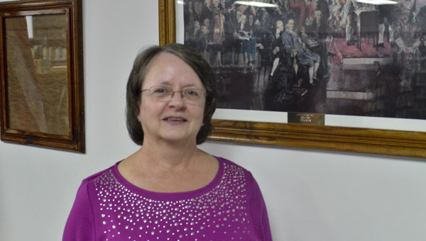Sheila Haigler was appointed as the new member of the Maplesville Town Council. She will take over for Hal Harrison and represent District 1. (Photo by Anthony Richards)