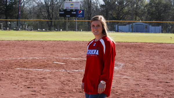 After a successful softball career at Verbena, Kala Langston makes her return as the program's head coach. (Photo by Anthony Richards / Advertiser)