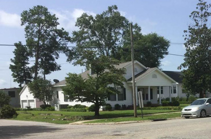 """New space: Trinity recently acquired """"Heflin House"""" to serve as additional office space and classrooms for the church."""