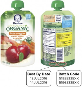 Some Gerber Organic pouch products were recently recalled after some of the packages were found to result in spoilage during transport and handling.