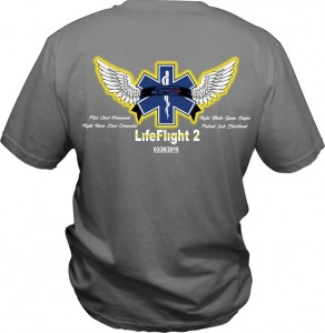 Verbena business Big Daddy D's Tees is selling T-shirts in honor of the individuals who died in a helicopter crash in Coffee County on March 26. (Contributed)