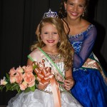 Young Miss Peach: Cresley Claire Haggard was crowned Young Miss Peach on Monday by 2015 queen Halle Sullivan.