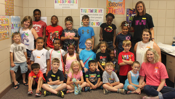 Summer reading: 21 students took advantage of a free reading program offered at Billingsley School on June 16. Two more sessions are planned. (Contributed photos)