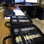 Phone search: A collection of cables and adapters accompany new digital forensics software purchased by Clanton Police Department. There are adapters for any kind of phone police could need to search. (Photo by Stephen Dawkins)