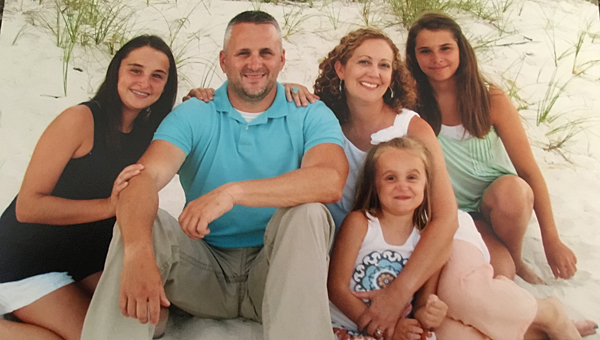 Abby, Brian, Shannon, Whitney and Maddie Wyatt. (Contributed)