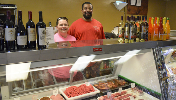 Bridget and Pat Ray are owners of B's Market in Clanton. (Photos by Anthony Richards)